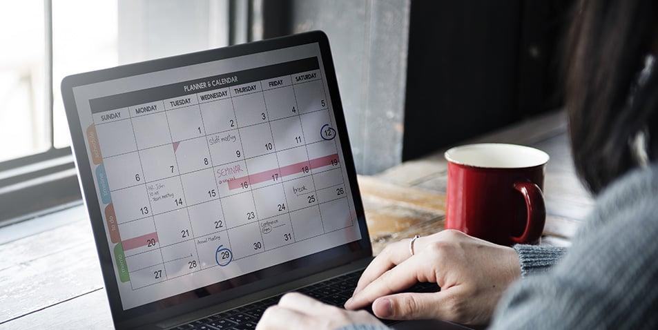 calendario de ventas